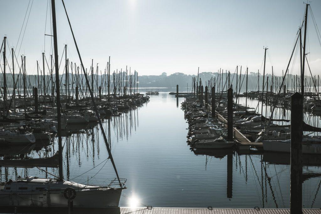 Port du Moulin Blanc de Brest