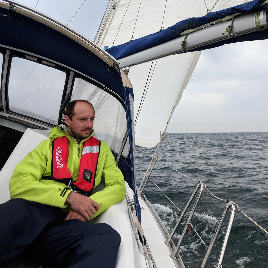 Jeremy sur Kerguelen Brest Dunkerque