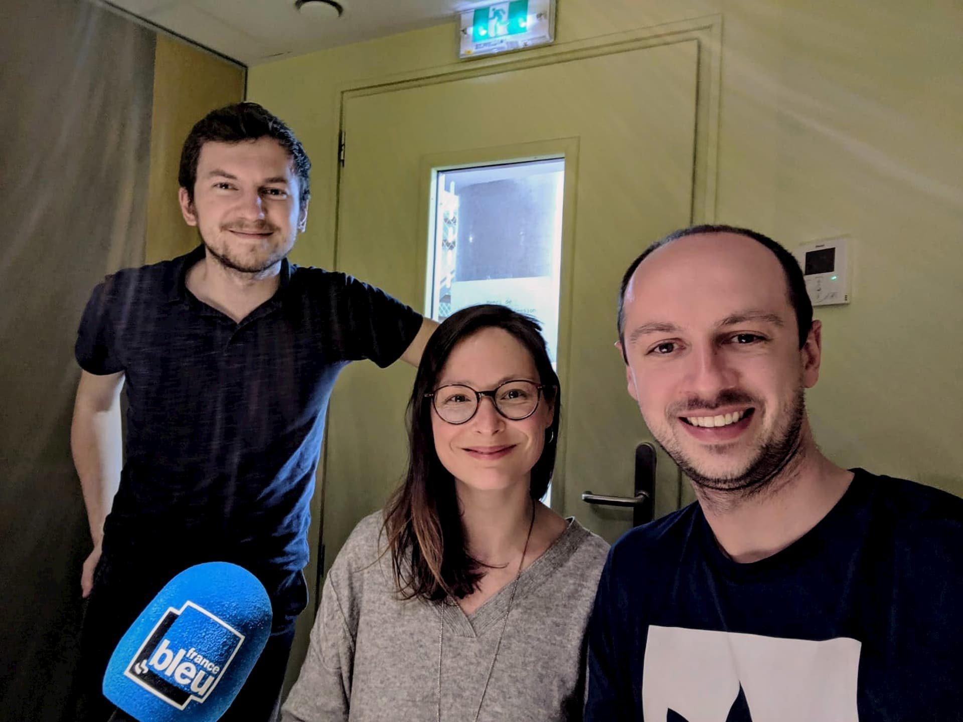 Notre interview sur France Bleu Nord