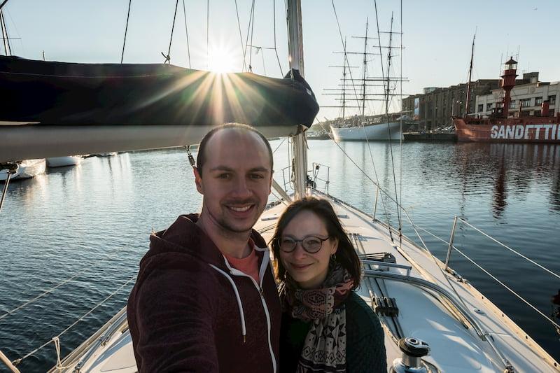 Jeremy et Gaelle sur Sailing Kerguelen