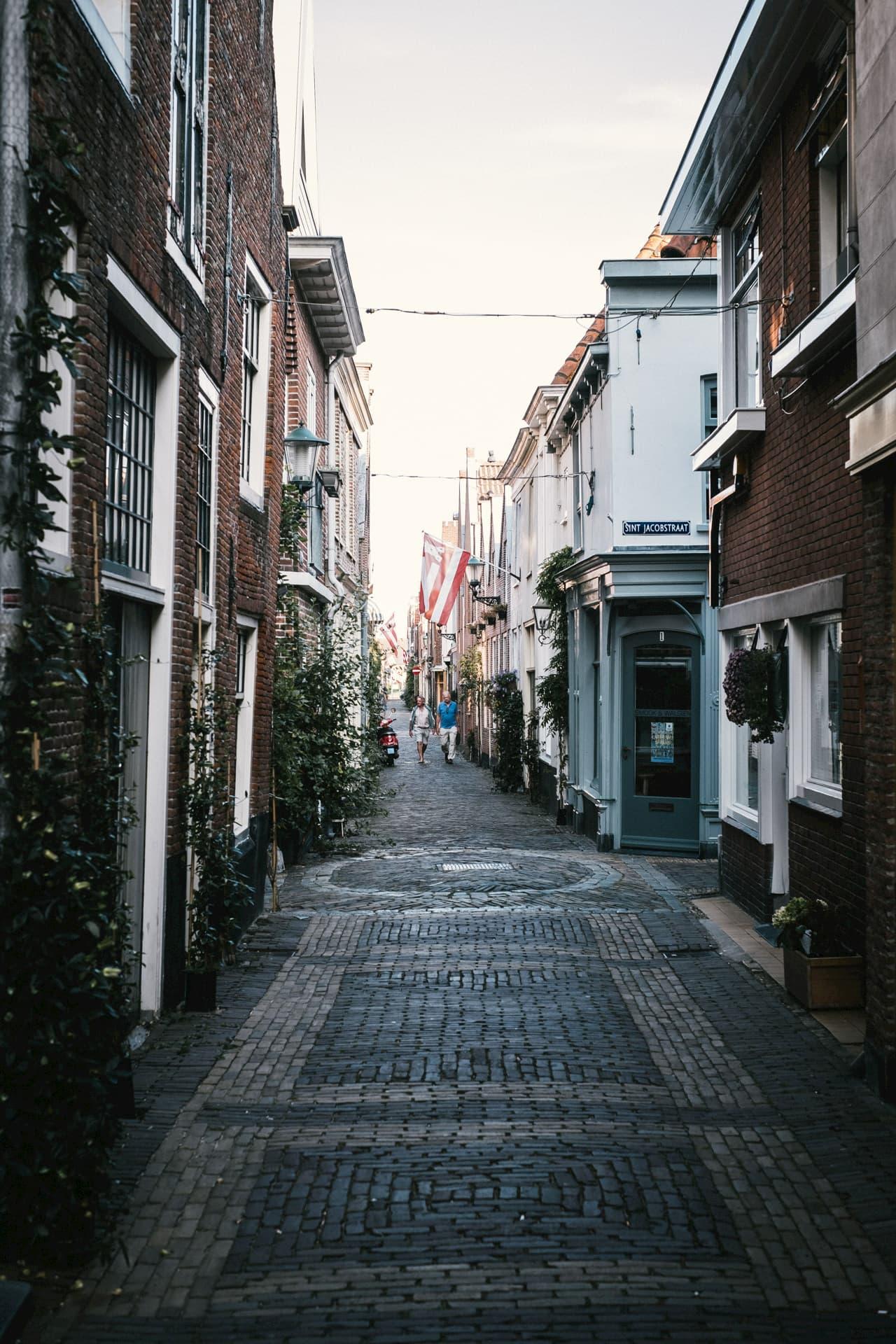 Alkmaar et ses ruelles pavées