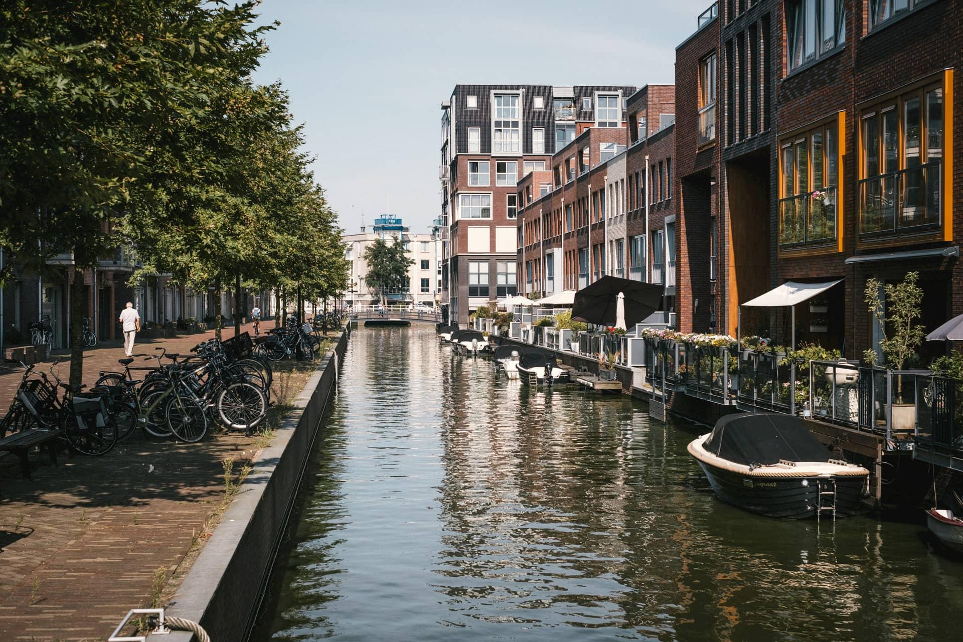 Les nouveaux quartiers d'Alkmaar