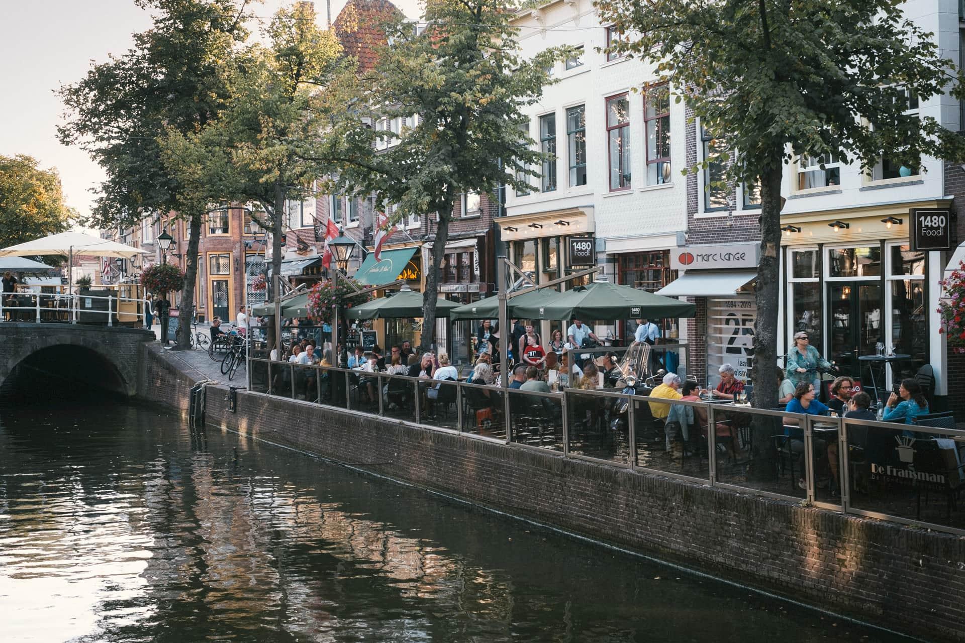 Alkmaar et ses terrasses animées