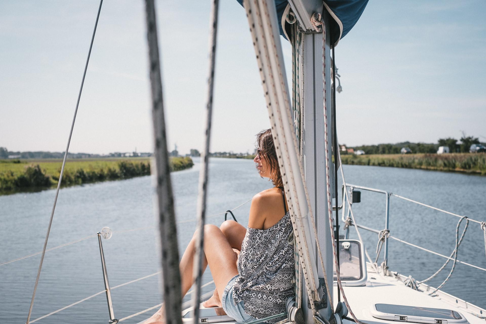 Les canaux des Pays Bas en voilier