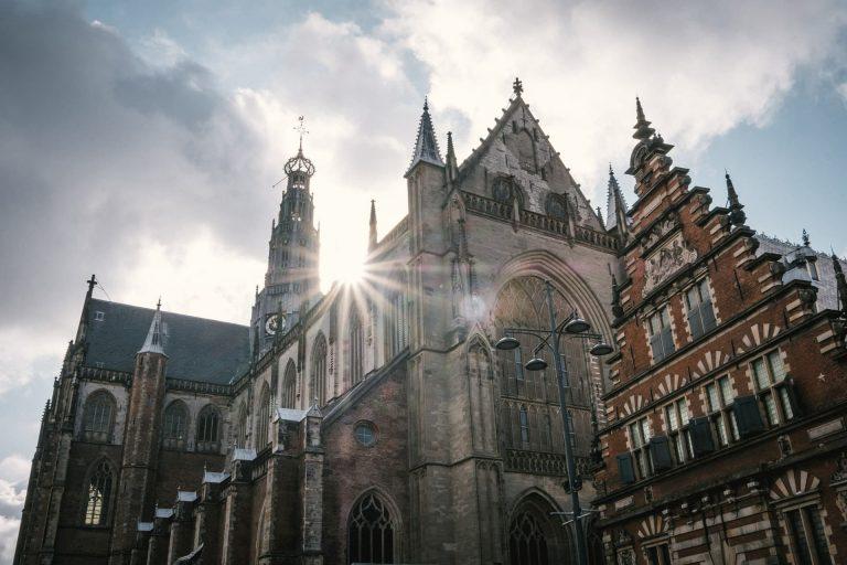La Bavokerk à Haarlem