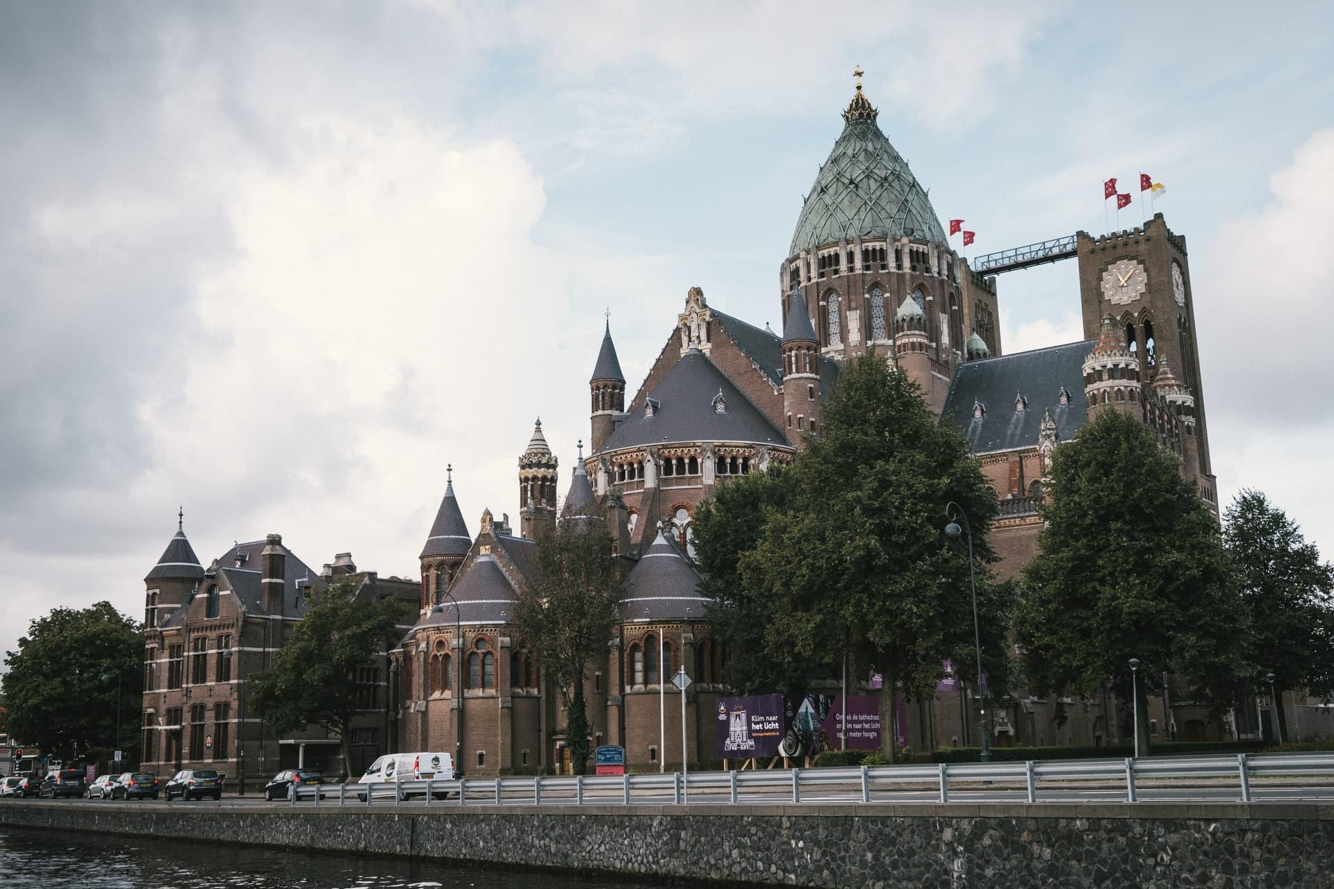 Eglise Bavo à Haarlem