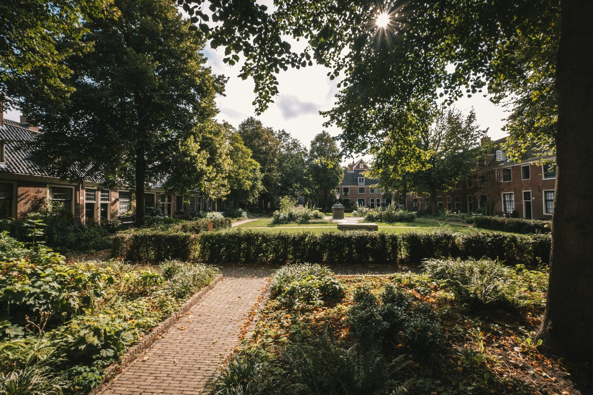 Un hofje à Haarlem