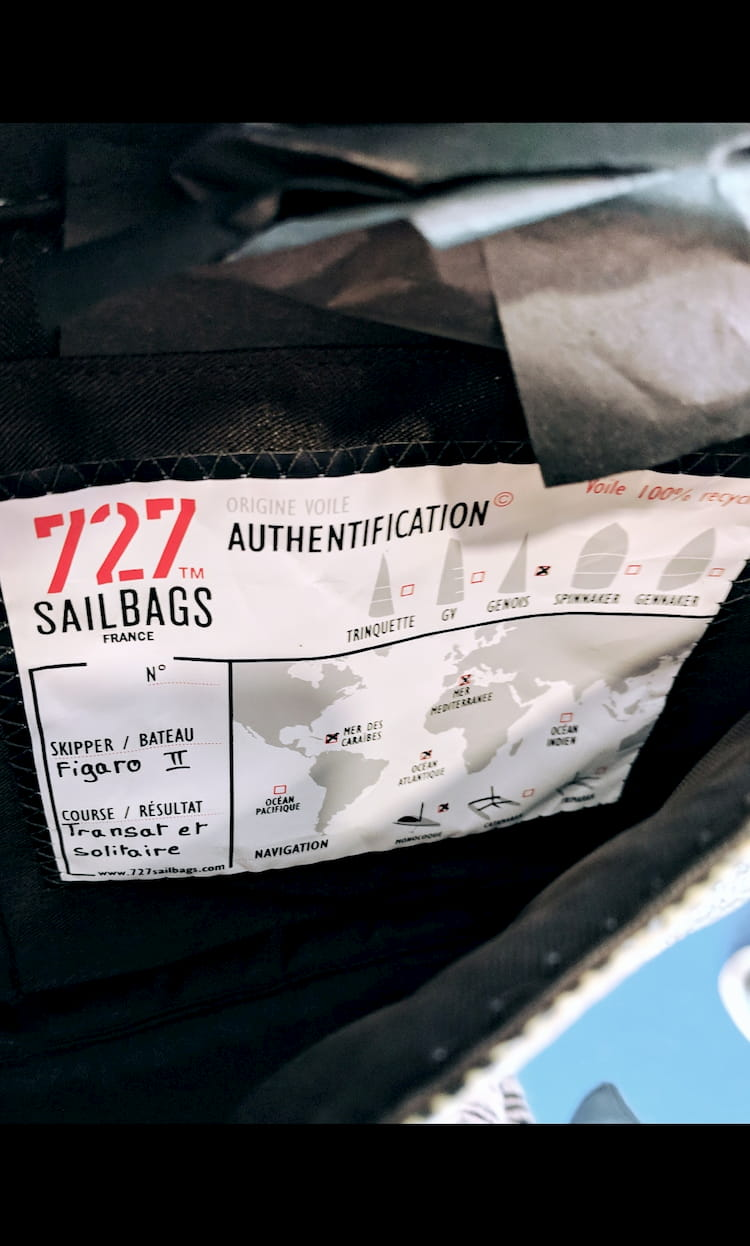 Détails du sac à main 727Sailbags
