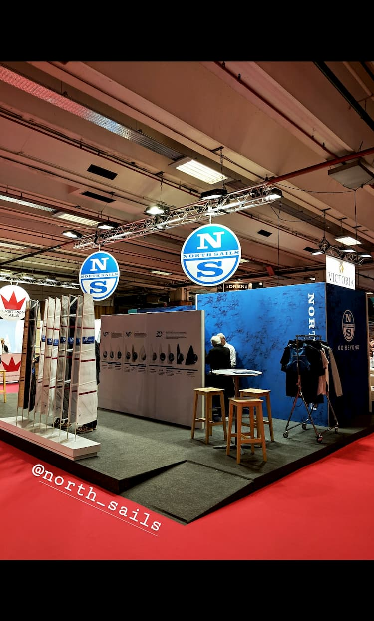 Stand North Sail au Nautic