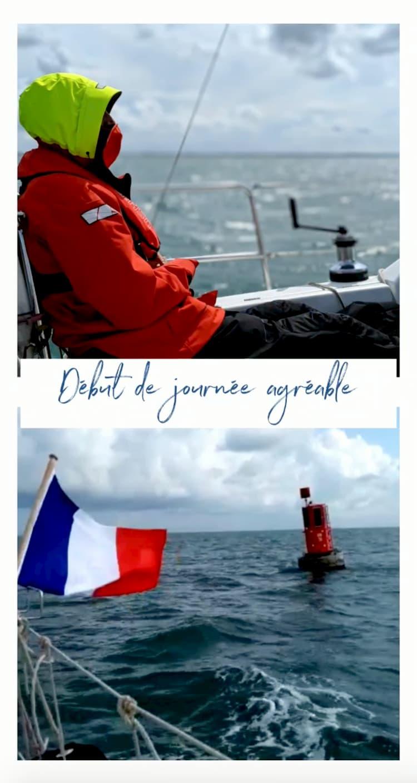 Départ de Dunkerque agréable