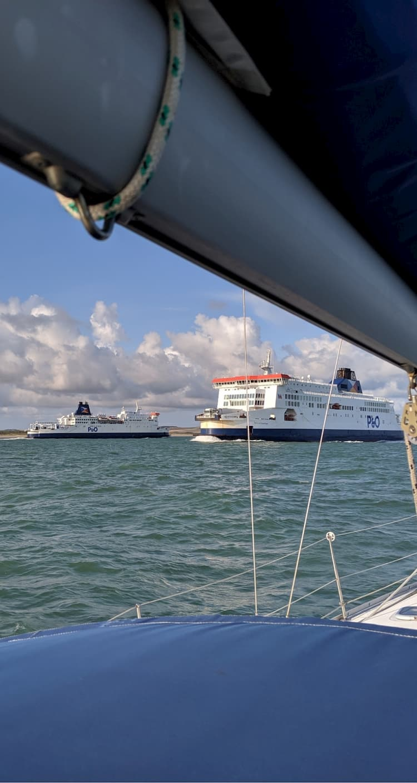 Les ferrys sont nombreux dans la Manche