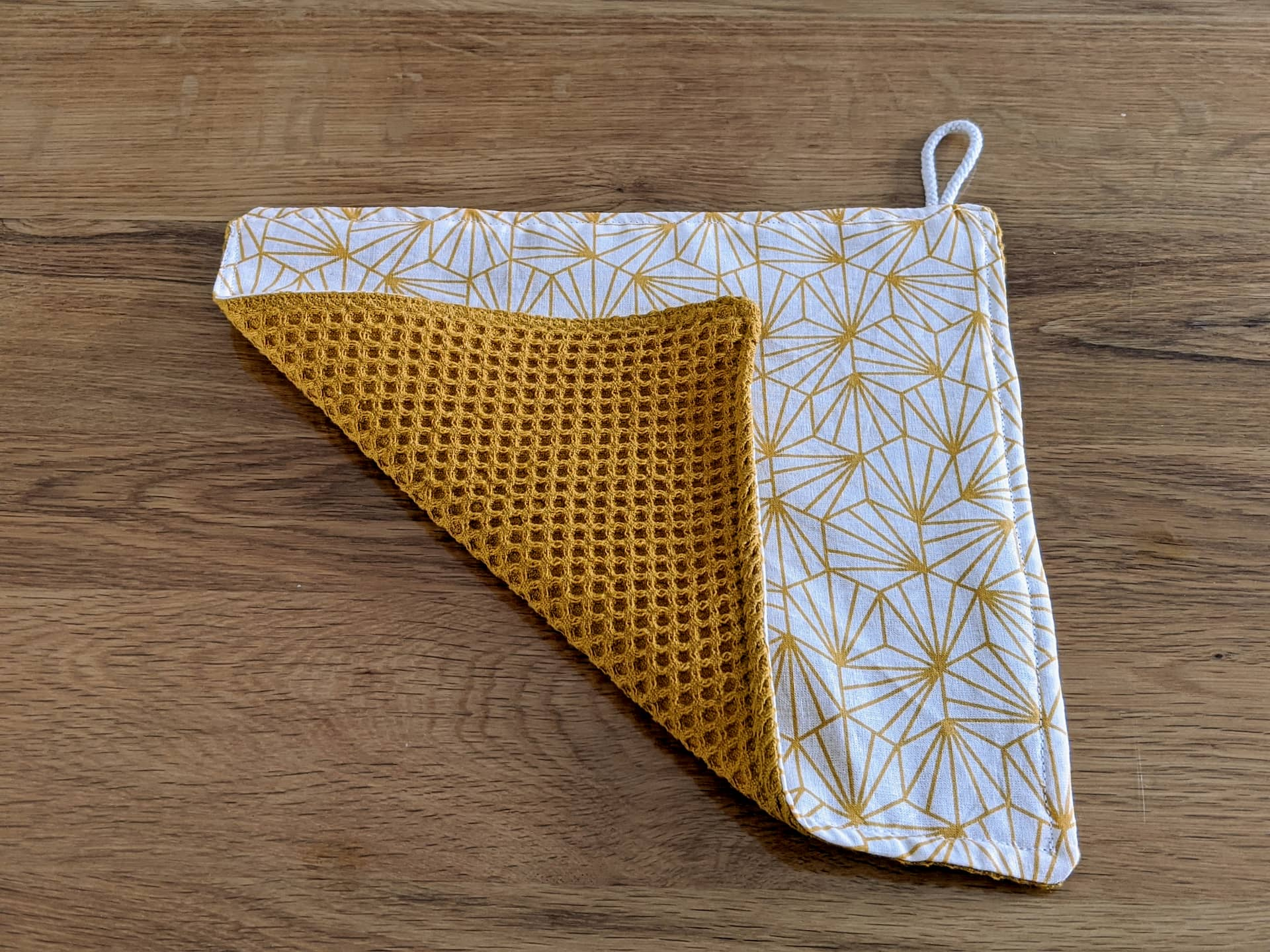 Sew zero waste washable and reusable unpaper towel easily