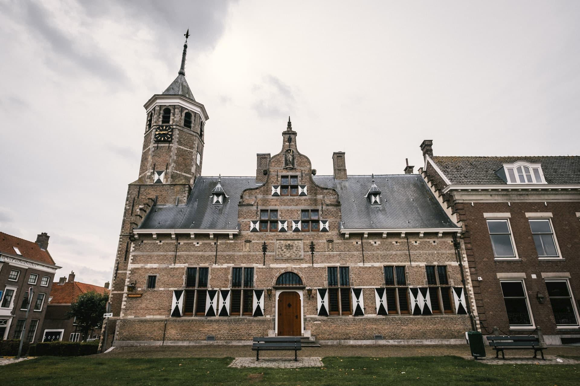 L'hôtel de ville de Willemstad
