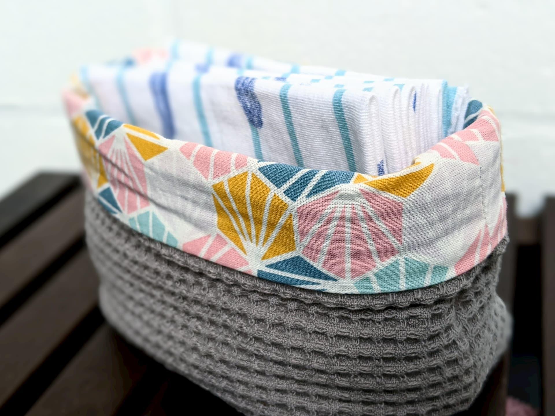 Les mouchoirs en tissu se rangent facilement