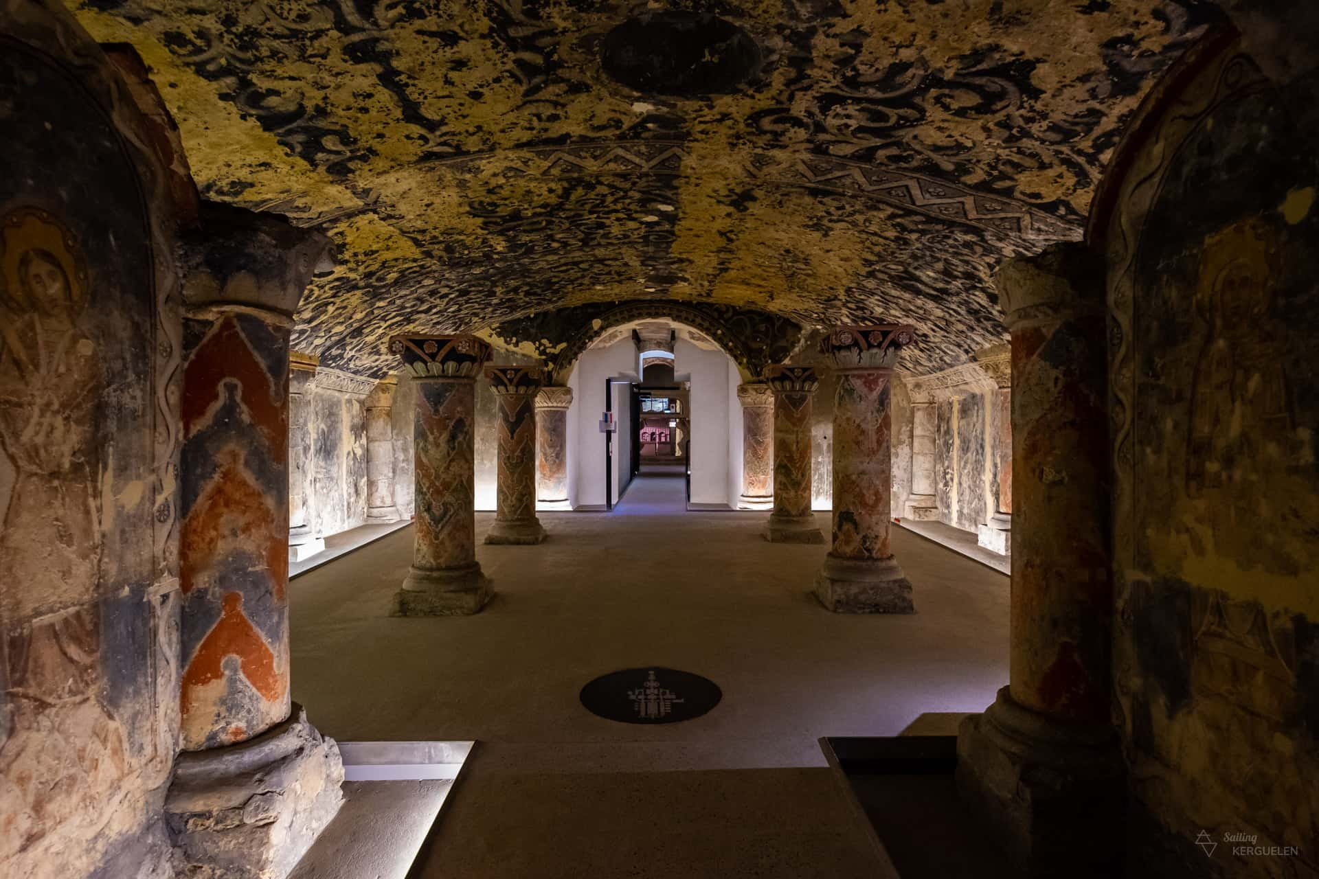 La crypte de Boulogne-sur-Mer
