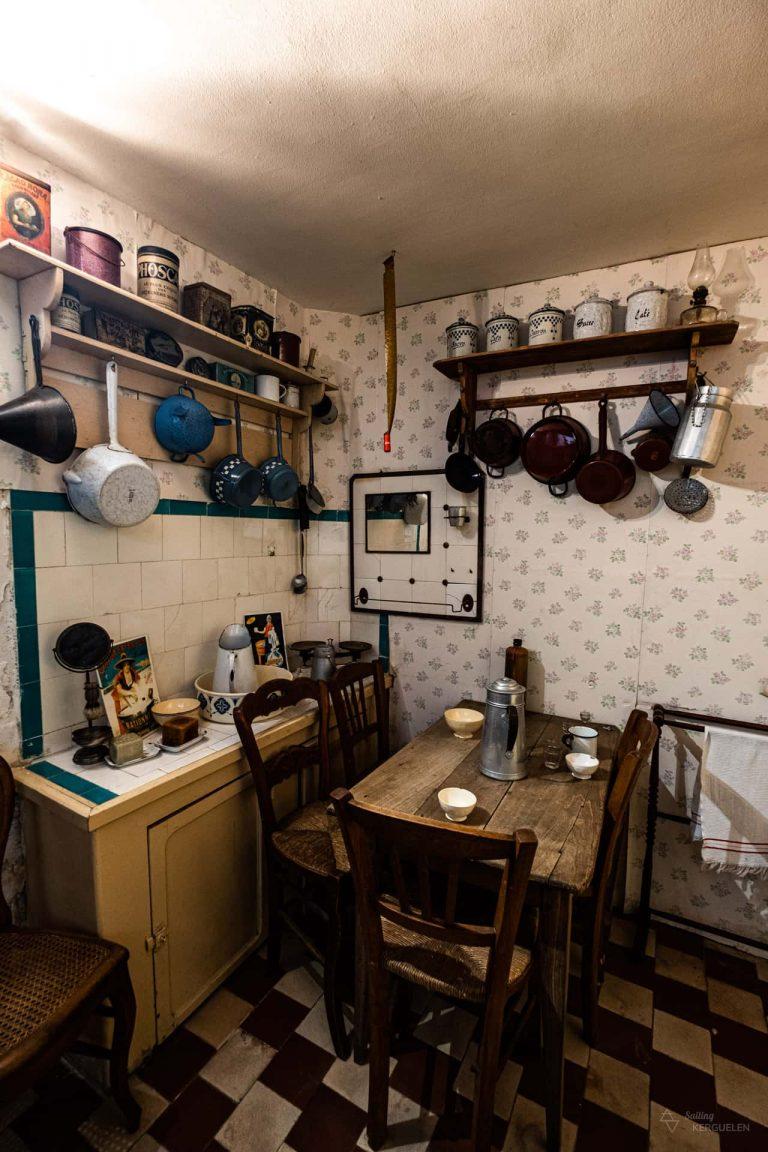 La cuisine de la maison de la Beurière