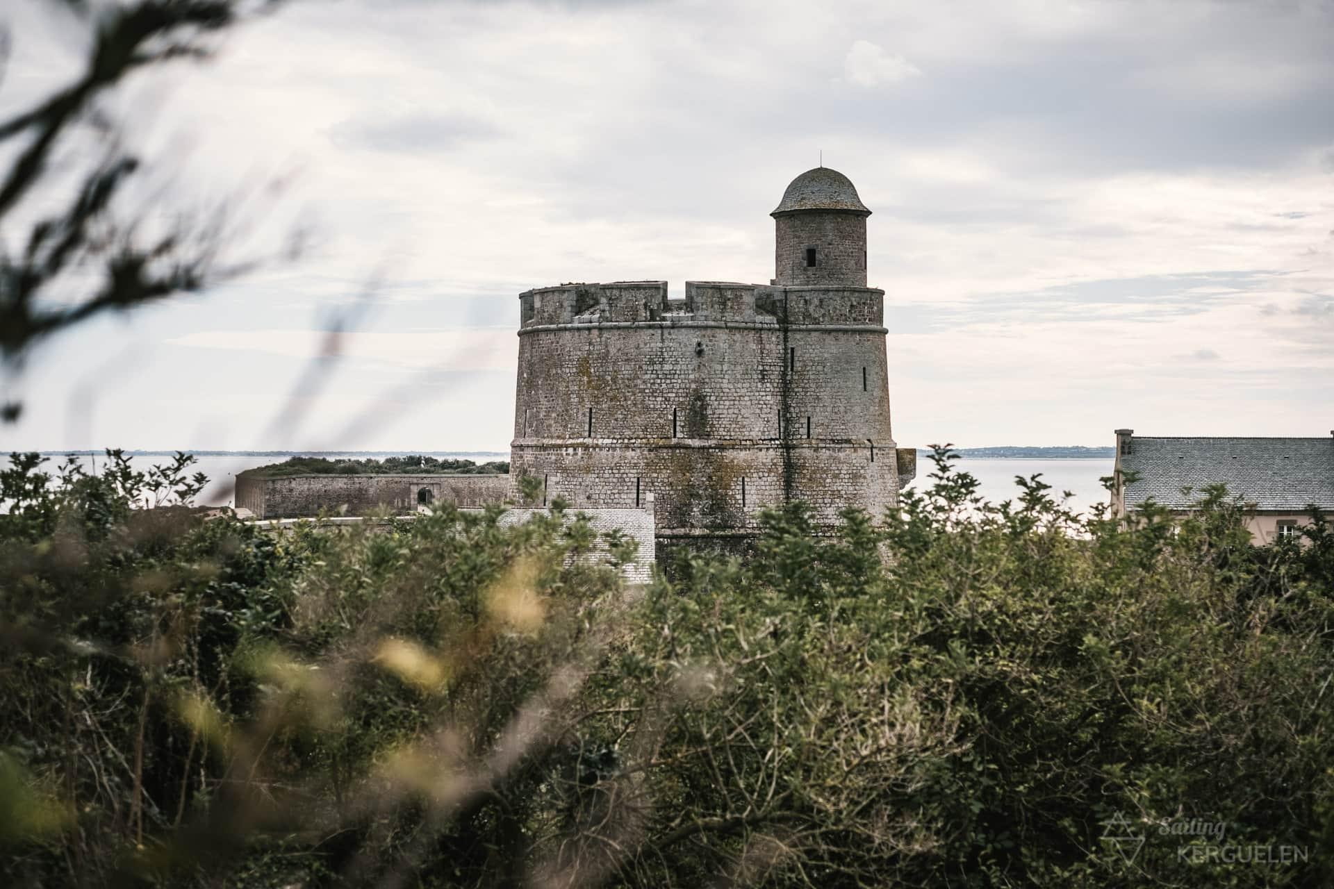 Le fort sur l'île de Tatihou