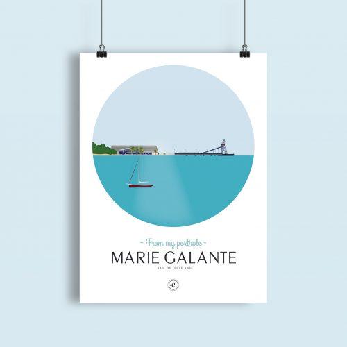 Affiche Encrages Marie Galante