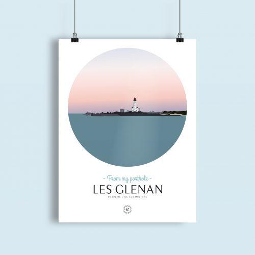 Affiche Encrages Les Glenan