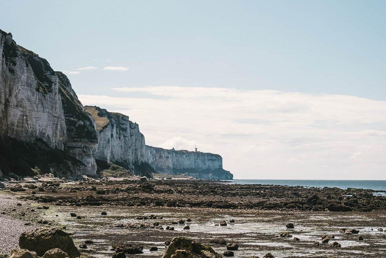 Les falaises de la valleuse de Senneville-sur-Fécamp